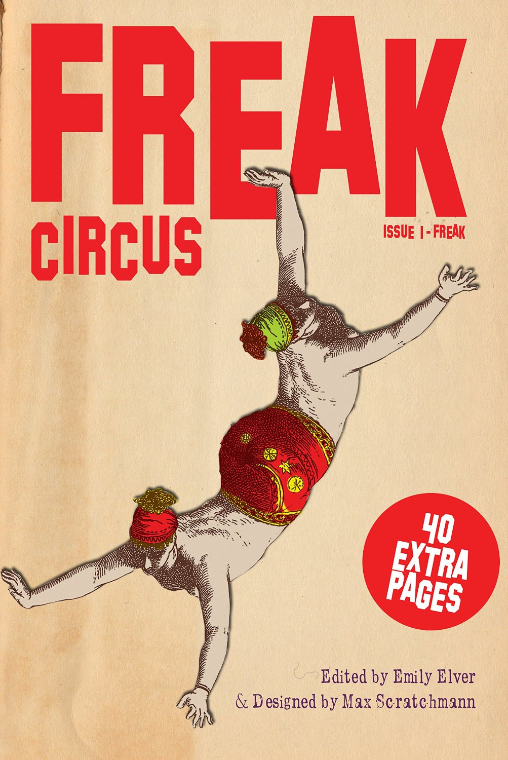 Front cover of Freak Circus  issue 1