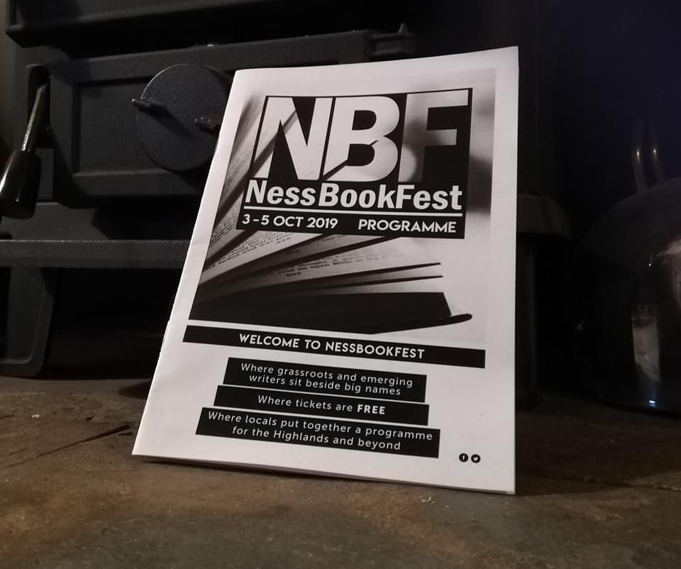 Brochure for Ness Book Fest 2019