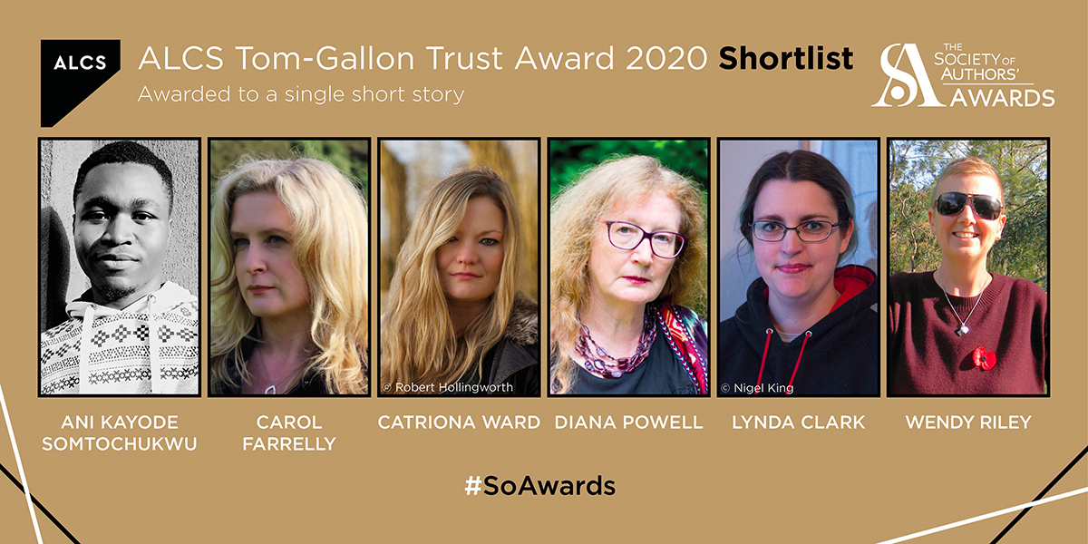Banner: Photos of Shortlisted Writers